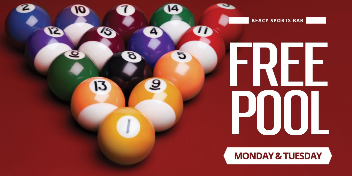 Free Pool @ The Beaconsfield Sports Bar